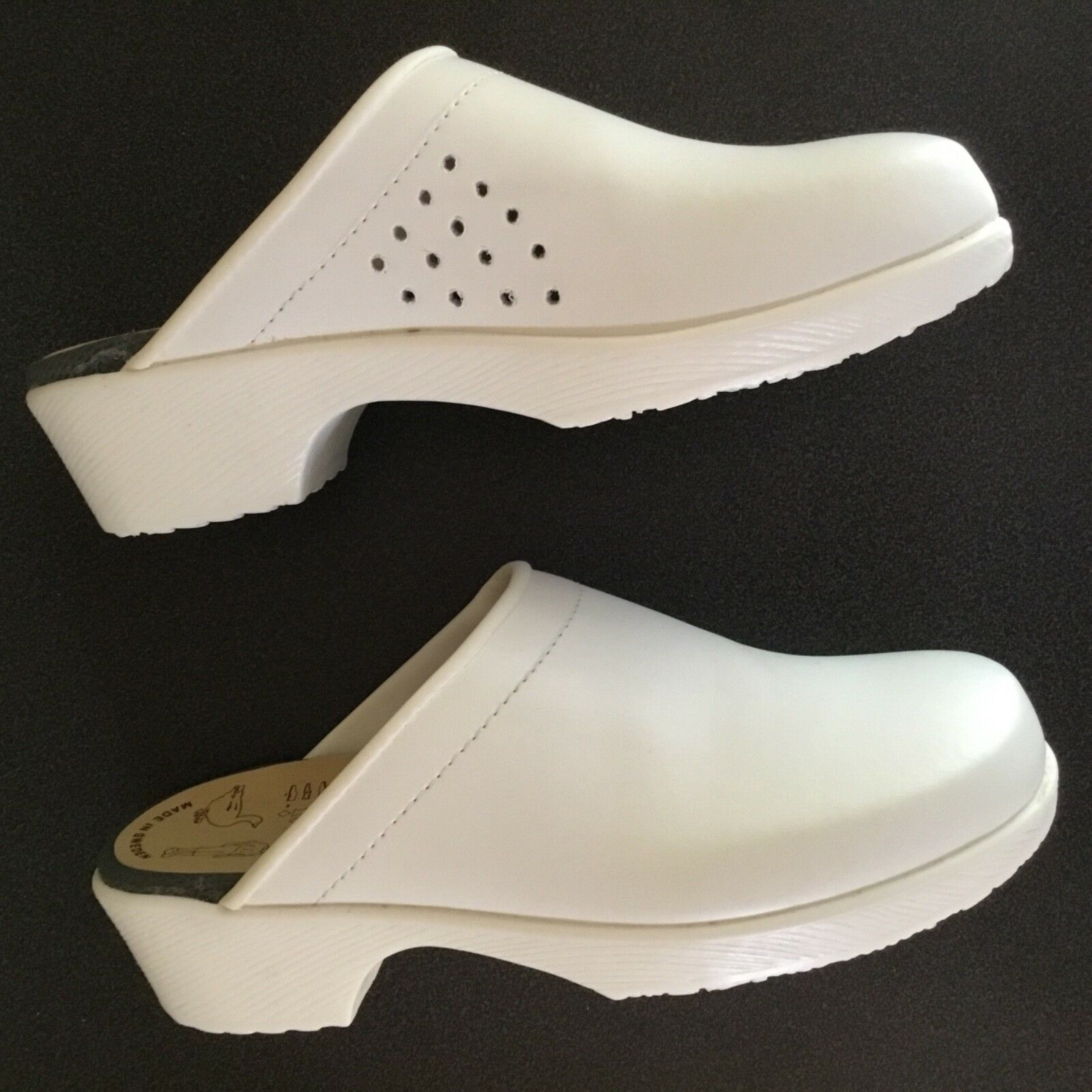 Swedish Clogs Soft Flexible Soles Nurses Doctors Chefs Größe 41 EU