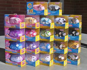 Zhu-Zhu-Pets-Hamster-Bright-Colorful-Long-Hair-Spots-Pick-1-or-Get-them-ALL-NIP