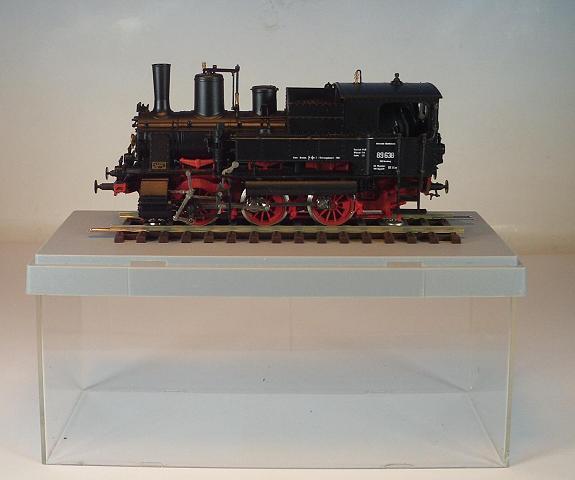 Rivarossi h0 máquina de vapor 89638 de la DB alemana Bundes 2 =  8488