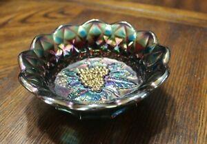 Fenton Carnival Glass Bowl