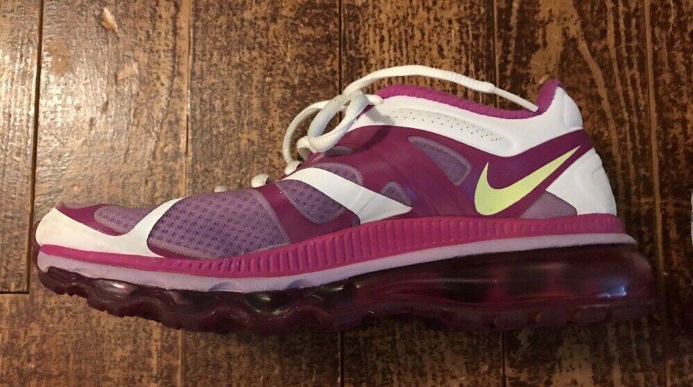 5d2a00b01b9 ... Nike Air Max Runining Shoe Shoe Shoe Women s Size 6.5 Pink Purple White  Youth Size 5 ...