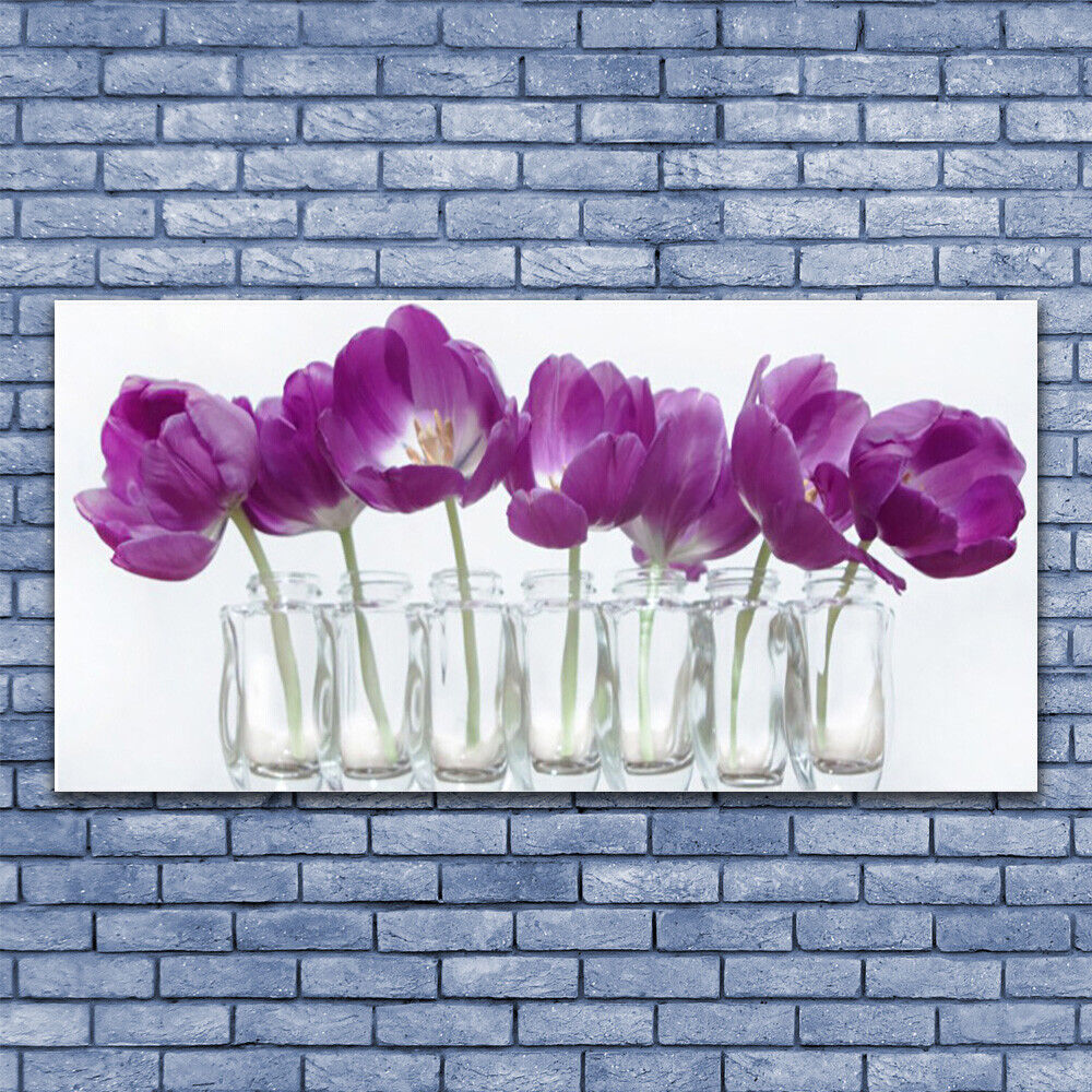 Canvas print Wall art art art on 140x70 Image Picture Flowers Floral db9f37