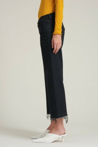 black bora 25 29 30 frayed 26 SIMON MILLER wide leg 24 28 jean cropped