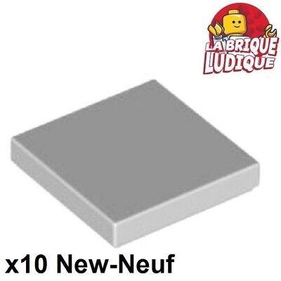 NEUF NEW 4 x LEGO 87079 Plaque Lisse Plate Tile 2x4 gris bluish grey gray