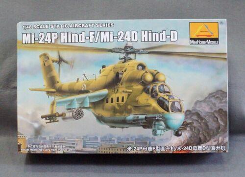 Military aircraft assembly model 1:48 Mi-24P Hind-F//Mi-24D Hind-D 80311