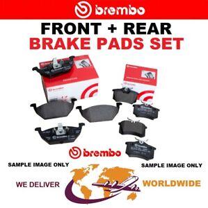 BREMBO FRONT + REAR Axle BRAKE PADS SET for AUDI Q5 3.0 TDI Quattro 2013-2017