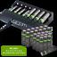 miniature 44 - Rechargeable Haute capacité AAA/AA Batteries Et 8-Way dock de chargement-Venom