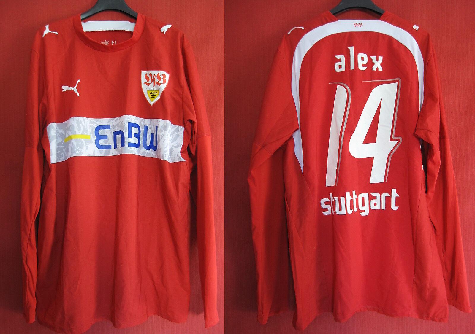 Maillot VfB Stuttgart Vintage Puma Enbw Manche Longue Alex L