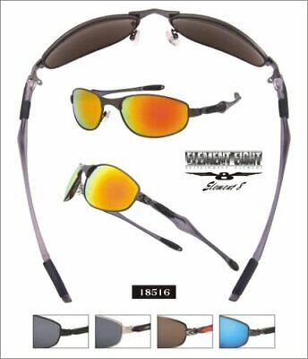 Elemento Originale 8 ® Occhiali Sportivi Occhiali Da Sole Incl. Softbag Astuccio 18516 Revo-mostra Il Titolo Originale