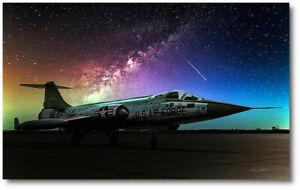 The Starfighter by Peter Chilelli -Lockheed F-104 Starfigh - Aviation Art Print