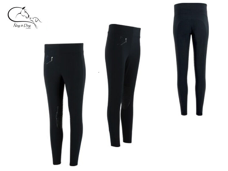 Equitheme Pull On high  Waisted Breeches Grip Ladies FREE Delivery  high quaity