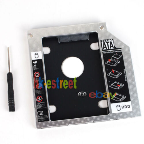SATA 2nd Hard Drive SSD HDD Caddy for Dell Inspiron 14R 5421 5437 15 5559 7537
