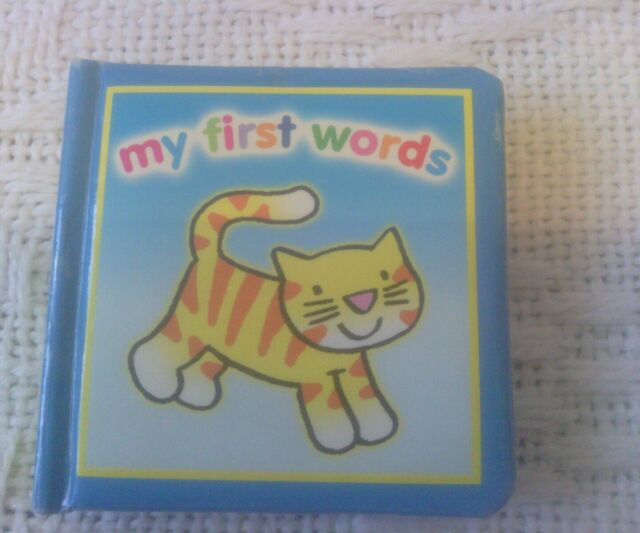 my first words - animals Brown Watson wipe clean cover