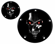 DERBY AND TIMER COVER- 5 HOLE TWIN CAM - GLOSSY FINISH BOTH COVERS