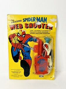 1975 Marvel Comics Spider-Man Spider Web Shooter Funstuf 5001 Collectible NEW