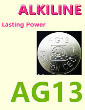 50 pc LR44 Bulk Button Cell 1.5V Batteries AG13 A76 357 157 1154 NEW!