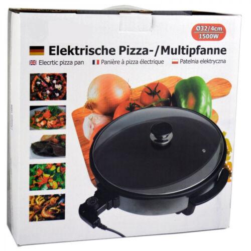 Électrique poêle ø32cm Pizza Poêle Multi Poêle Party Poêle Poêle anti-adhérent