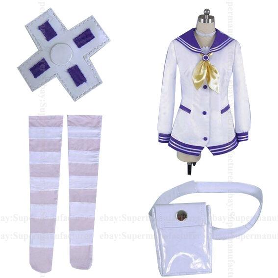 Hyperdimension Neptunia Purple Heart Mk2 Cosplay Clothing Cos Costume