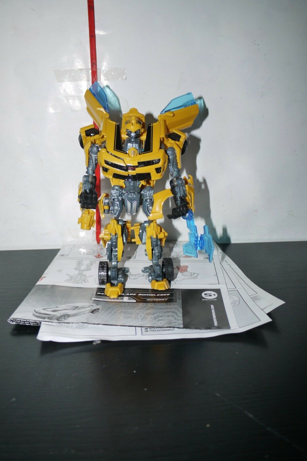 Transformers Movie Bumblebee Battle Blade Deluxe Hunt For The Decepticons FIGURE