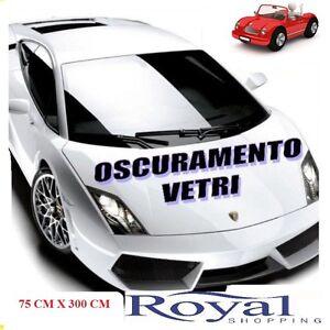 Pellicola Oscurante Vetri Auto Ultra Nero 3 50cm X 3m