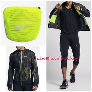 Nike zwart heren Zwart Hardloopjack Trail Zoom volt Back volt Packable Dropped 6qpUr6P