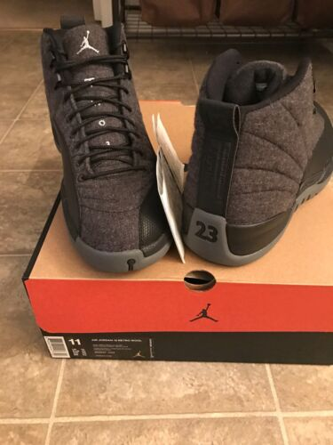 Size Brand New Never JordanRetro 12 Ds Wool 11 Worn 0vnmwON8