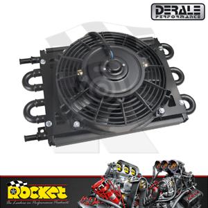 Derale Dyno-Cool 6 Pass Remote Mount Cooler w/ Fan 11/32 Barb - DP12740