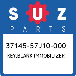 37145-57J10-000-Suzuki-Key-blank-immobilizer-3714557J10000-New-Genuine-OEM-Part