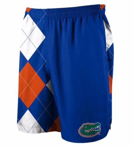 Loudmouth Florida Gators Gym Shorts Men/'s Adult M 32-35