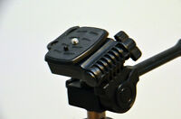 Quick Release Plate For Platinum Plus 5858d Tripod By Sunpak (see Details)