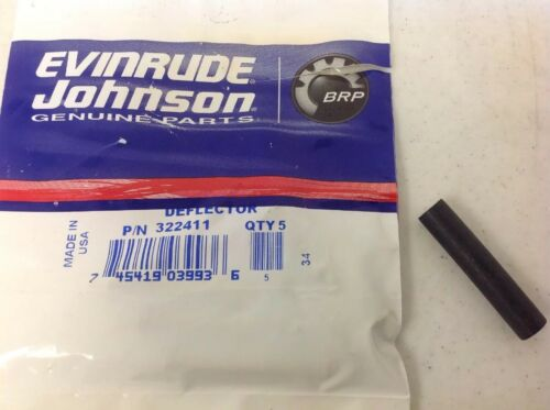 322411 Evinrude Johnson OMC BRP Outboard Water Deflector 0322411 OEM
