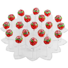 Acrylic 19 Holes Tower Cake Lollipop Cupcake Holder Display Stand Bases DIY