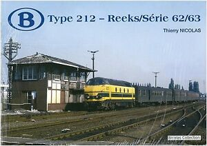 Nicolas Collection 978-2-930748-42-9 BUCH SNCB Type 212-Reeks/Série62/63 Neu+OVP