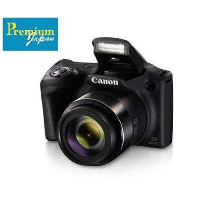 CANON PowerShot SX430 IS 20MP Black Digital Camera Japan Domestic Version New