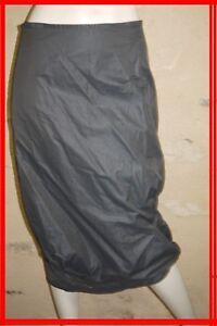 COP-COPINE-Taille-38-Superbe-jupe-marron-fonce-coton-melange-modele-LEE