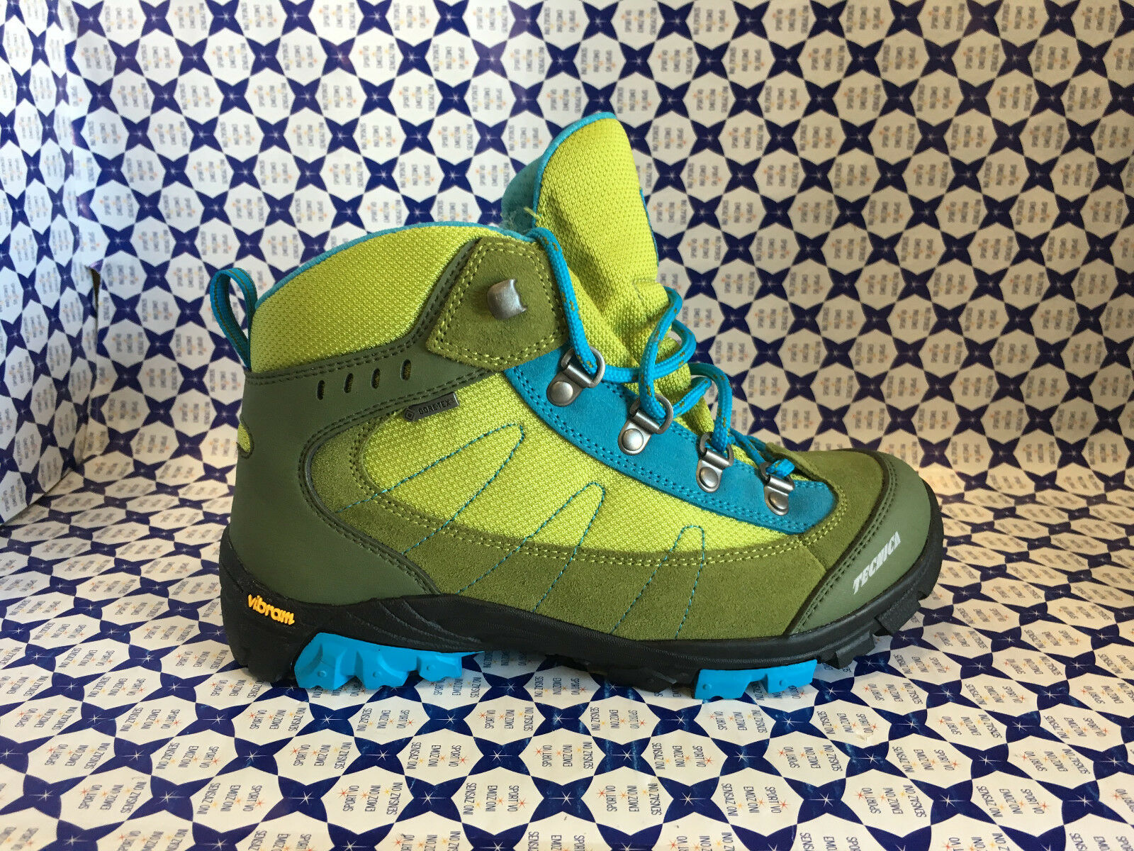 zapatos Trekking Tecnica Tecnica Tecnica Junior Unisex - Makalu GTX - Verde Azzurro - 311075 1cfb0c
