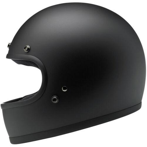 ECE Motorcycle Helmet Biltwell Gringo DOT Flat Black Choose Size