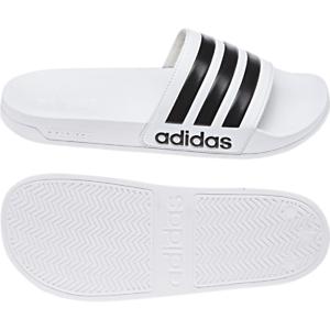 Adidas Herren Sandalen Adilette Cloudfoam Strand Weiß Schwimmbad Unisex Aq1702