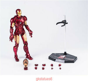 1-6-HC-TOY-Avengers-Iron-Man-Stark-MK4-Action-Figure-Collectible-Model-IN-BOX