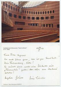 45583-Evry-Cathedrale-de-la-Resurrection-Saint-Corbinien-alte-Ansichtskarte
