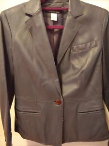 V Jacket cuciture a New 4 York Leatherbgrey Jones con di SnqwqC4P