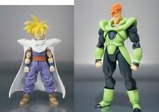 "In STOCK S.H Figuarts ""Super Saiyan Gohan + Android 16 SET  Dragonball Z"