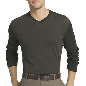 5df4c84492 NEW! VAN HEUSEN ~ MENS SIZE XL ~ LONG SLEEVE V-NECK PULLOVER SWEATER ...