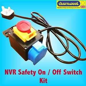 Charnwood w026 nvr safety switch for router table ebay image is loading charnwood w026 nvr safety switch for router table greentooth Images