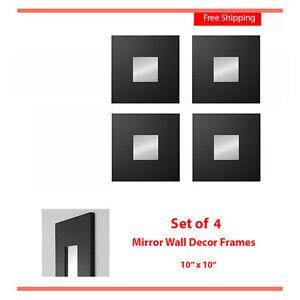 IKEA Wall Decor Mirror Frames Set o 4 MALMA Modern Art ...