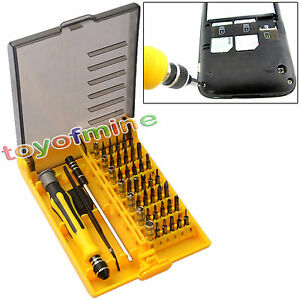 precision 45 in 1 electron screwdriver torx tool set repair xbox computer pho. Black Bedroom Furniture Sets. Home Design Ideas