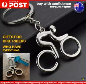 racing bike Keychain Gifts Bike rider