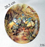 Sammelteller Wandteller A6172 Rotkehlchen beim Baden Tirschenreuth 1994