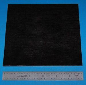 Garolite-Sheet-Grade-XX-125-034-3-2mm-6x6-034-Black
