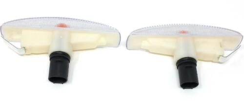 2006-2013 Range Rover Sport Clear Side Marker Repeater Lights by RC Trading